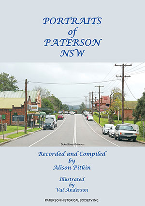 cover of Portraits of Paterson