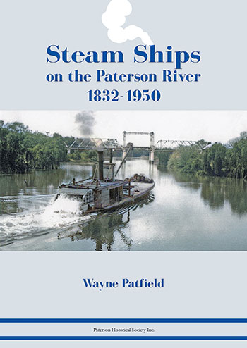 cover of Steam Ships on the Paterson River